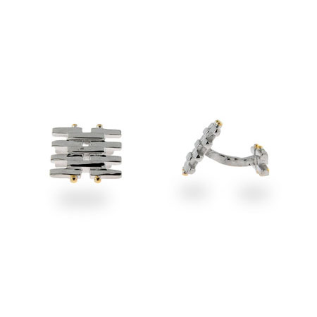 Tiffany Inspired Sterling Silver Gatelink Cufflinks