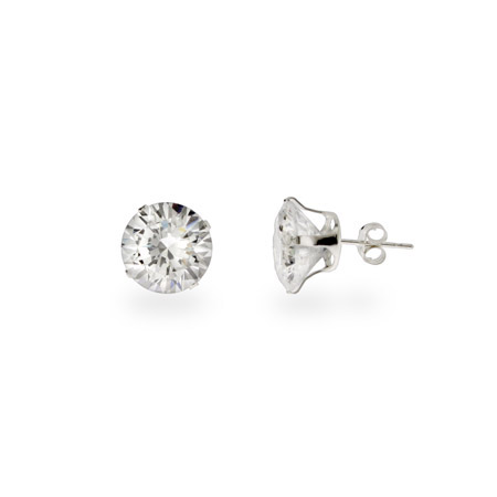 Big Pimpin 4 carat CZ Stud Earrings