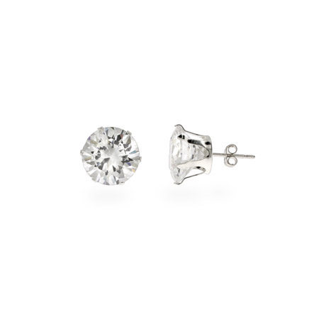 Mens Bling Bling 5 Carat CZ Stud Earrings
