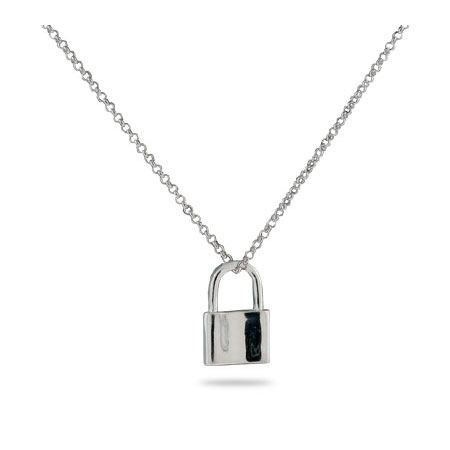 Tiffany Inspired 1837 Lock Pendant