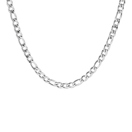 6mm Stainless Steel Figaro Chain
