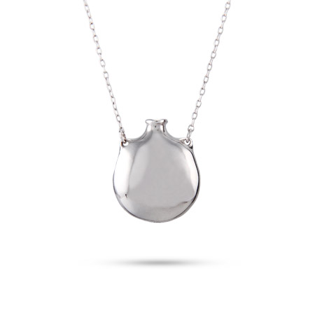 Tiffany Inspired Sterling Silver Engravable Bottle Pendant