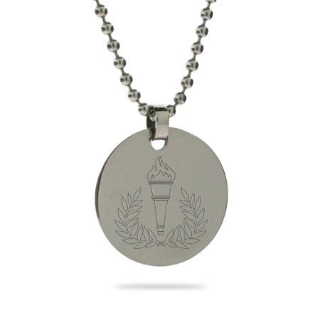 2012 Team USA Olympic Engravable Tag Pendant
