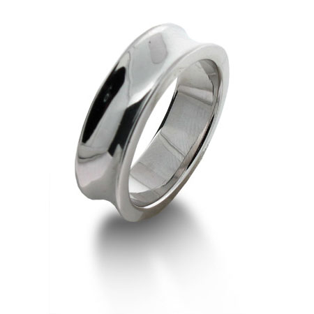 Tiffany Inspired 1837 Ring in Sterling Silver