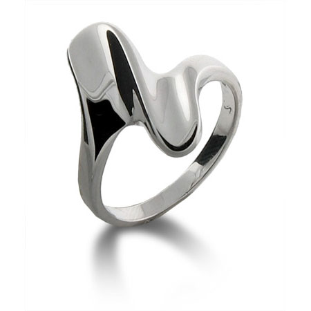 Tiffany Inspired Contemporary Design Ring