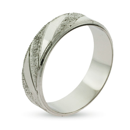EvesAddiction.com Gleaming Sterling Silver Wedding Ring - Clearance Final Sale at Sears.com