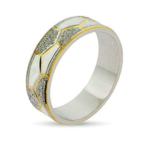 EvesAddiction.com Eternity By Eve Golden Octet Wedding Band- Clearance Final Sale at Sears.com