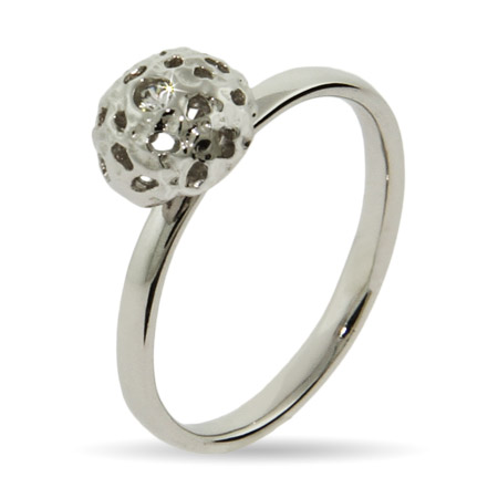EvesAddiction.com CZ Disco Ball Stackable Ring - Clearance Final Sale at Sears.com