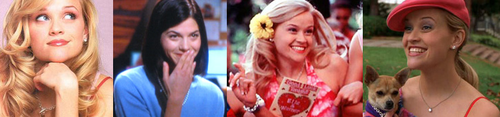 Legally Blonde Style Movie Jewelry