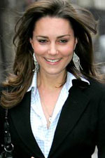 Kate Middleton seems to love the look of silver, especially with these cascading silver chandelier earrings. Get the hottest Kate Middleton styles at Eve's!