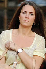 Kate Middleton shows off another fantastic watch! Get the hottest styles of the stars at EvesAddiction!