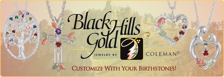 Authentic Black Hills Gold Jewelry by Coleman