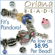 Charms for Pandora - Oriana Beads