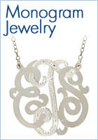 Monogram Jewelry - New Styles Just Added!