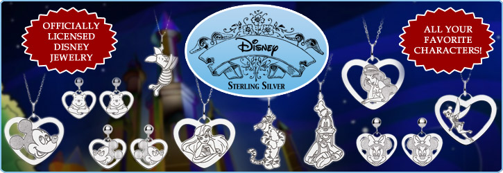 Officially Licensed Disney Jewelry