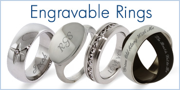 Engravable Rings