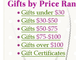 Gifts By Price Range