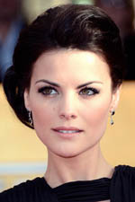 Jaimie Alexander takes beauty to a whole new level. We love that she accessorized with the perfect black earrings to match her sultry ensemble!