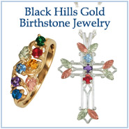 Black Hills Gold Birthstone Jewelry