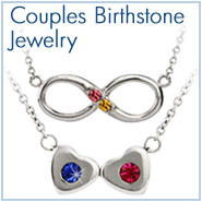 Two Stone Birthstone Jewelry