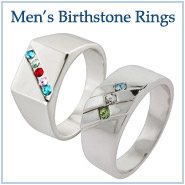 Men's Birthstone Rings