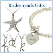Silver Bridal Party Jewelry