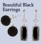 Black & Onyx Earrings