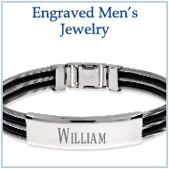 Engravable Men's Jewelry