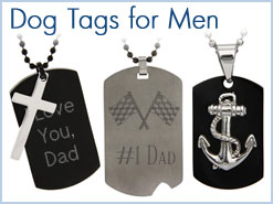 Dog Tag Necklaces for Men