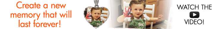 Photo Pendant for Mom