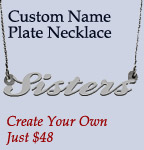 Custom Nameplate Jewelry
