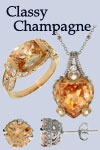 Orange Champagne Jewelry