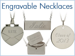 Engravable Necklaces