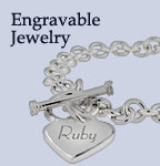 Engraved Jewelry & Engravable Jewelry
