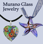 Murano & Venetian Glass Jewelry