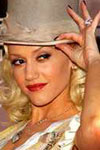 Gwen Stefani is seen here in Hollywood wearing a diamond locket similar to one sold here at EvesAddiction.