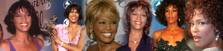 Whitney Houston Style Jewelry